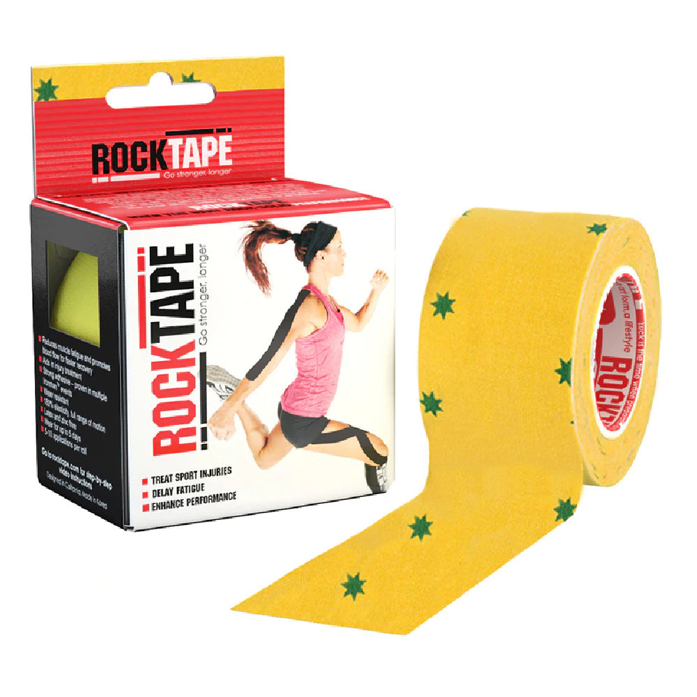 ROCKTAPE | STANDARD 5CM X 5M YELLOW/GREEN