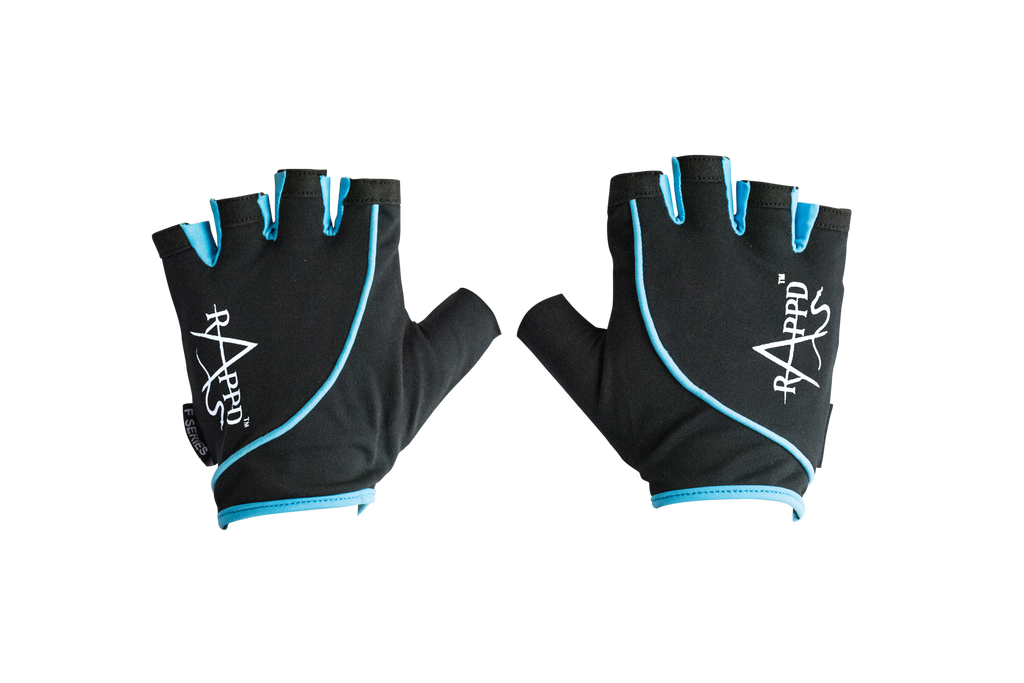 RAPPD | WOMENS F SERIES GLOVES (BLUE)