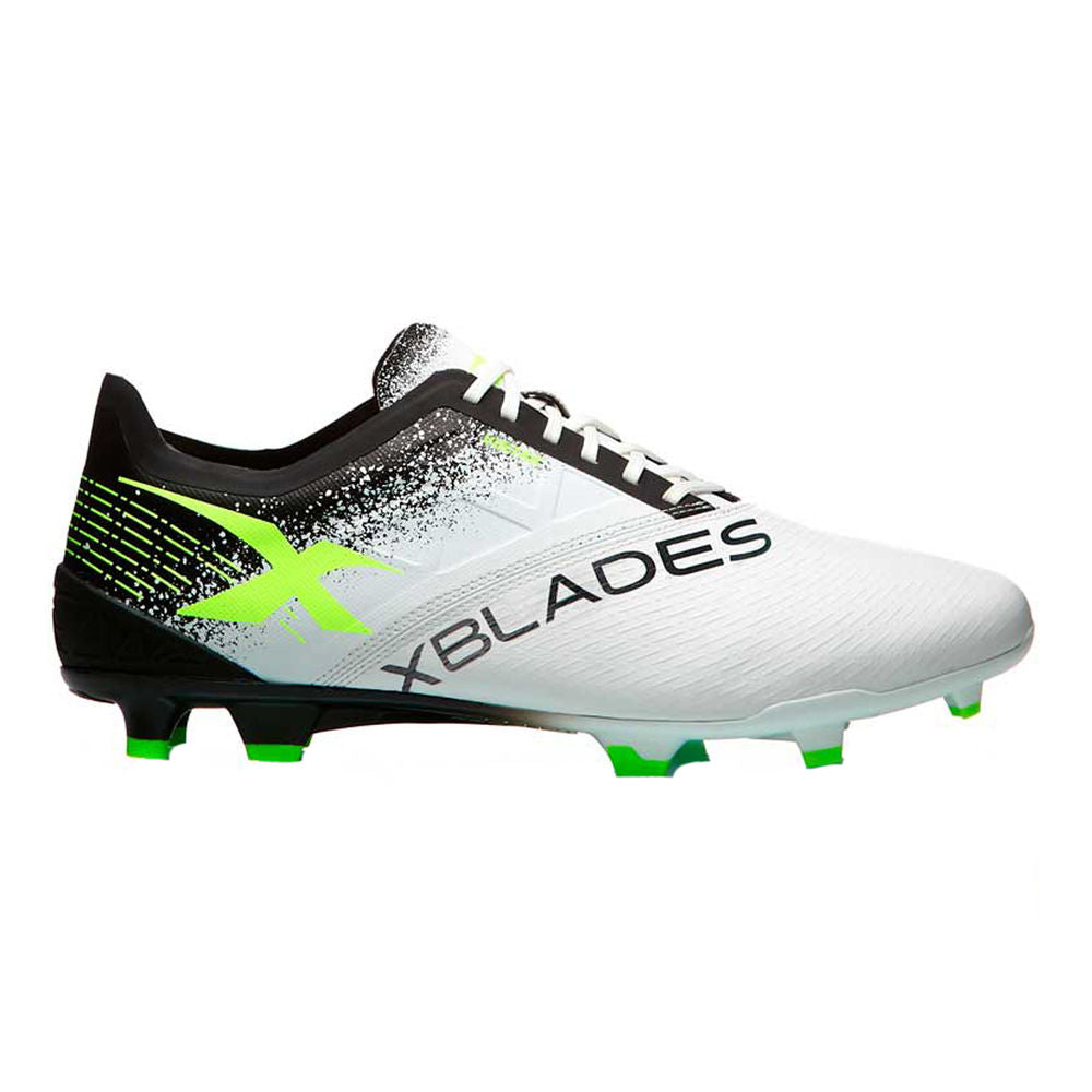 XBLADES | VOLTAIC 19 FOOTBALL BOOT (2E)(WHITE/VOLT/BLACK)