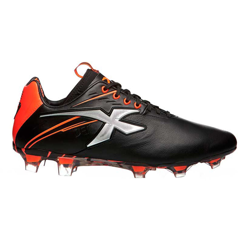 XBLADES | WOMENS JET III 19 FOOTBALL BOOT (D)(BLACK/FIREHAWK/ SILVER)