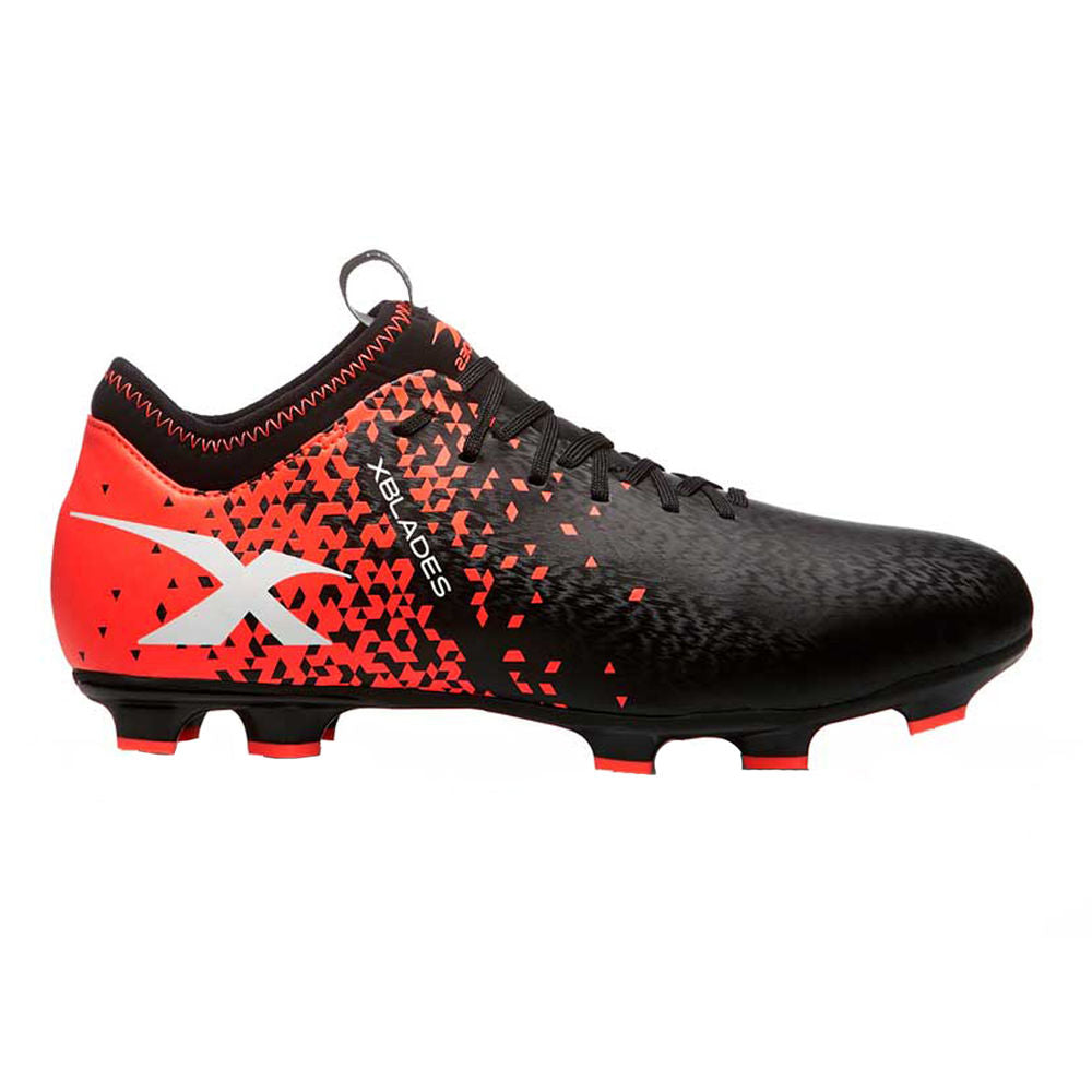 XBLADES | WOMENS MICRO JET X 19 FOOTBALL BOOT (D)(BLACK/FIREHAWK)