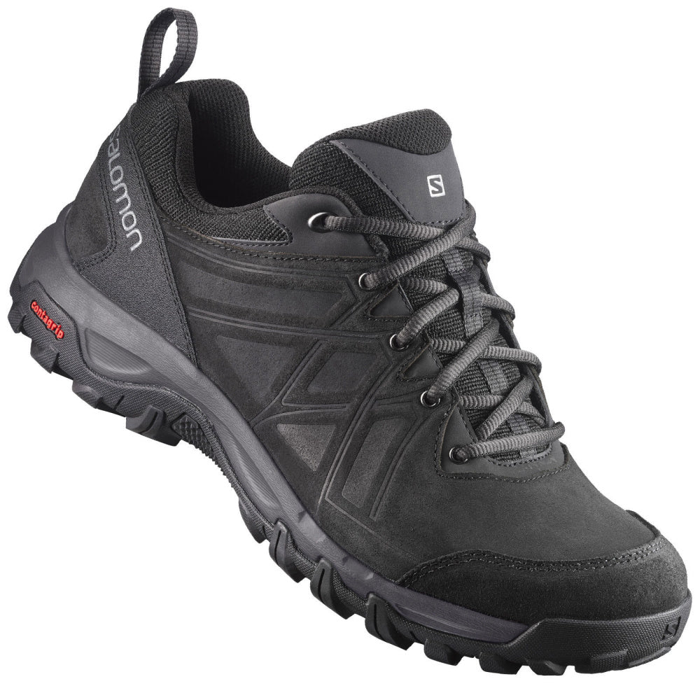 SALOMON | MENS EVASION 2 LTHR BLACK