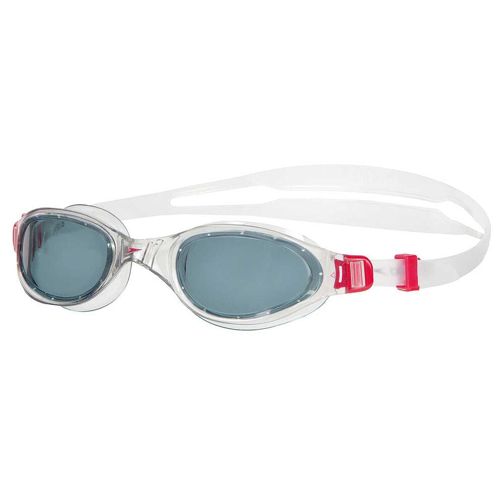 SPEEDO | ADULTS FUTURA PLUS RED/CLEAR
