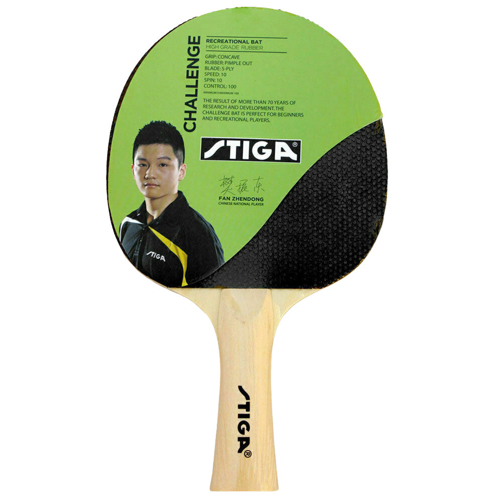 STIGA | CHALLENGE TABLE TENNIS BAT