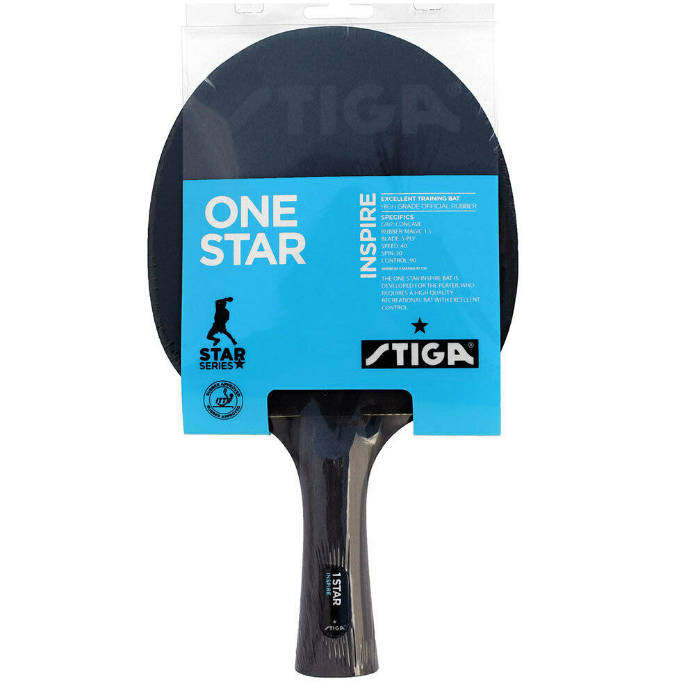 STIGA | INSPIRE 1 STAR TABLE TENNIS BAT