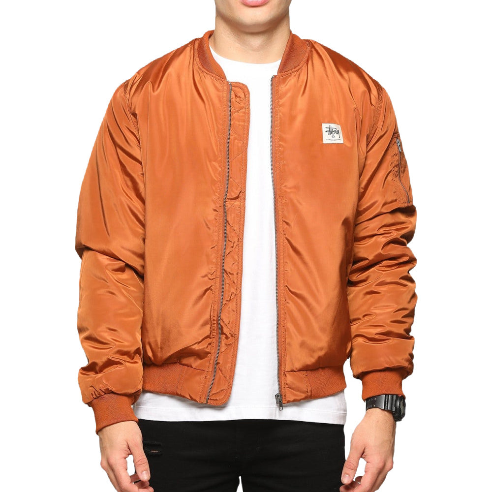 STUSSY | MENS WORKWEAR BOMBER TAN