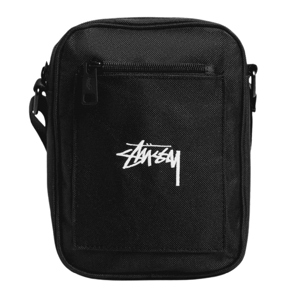 STUSSY | STOCK MESSENGER BAG BLACK