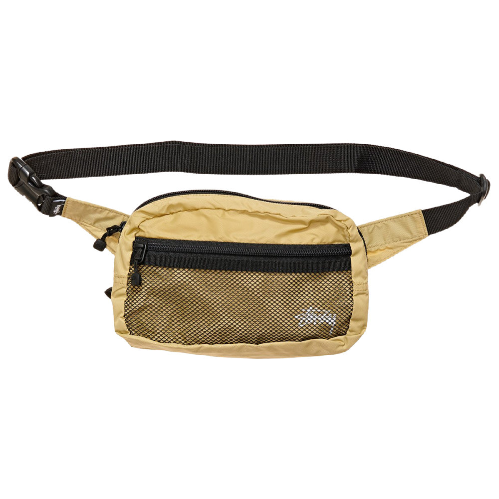 STUSSY | STOCK PANEL WAISTBAG GOLD