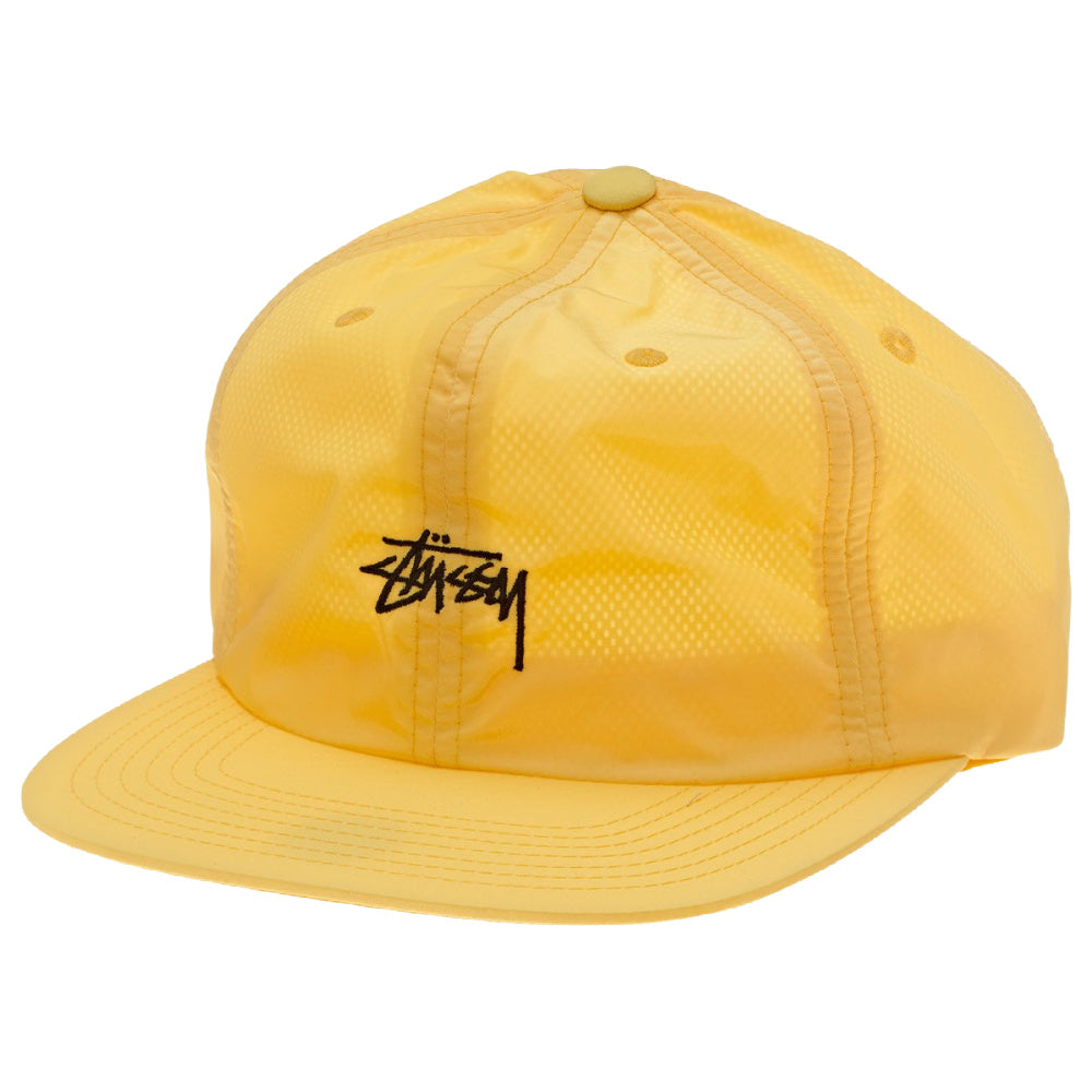 STUSSY | STOCK SNAPBACK HAT (YELLOW)