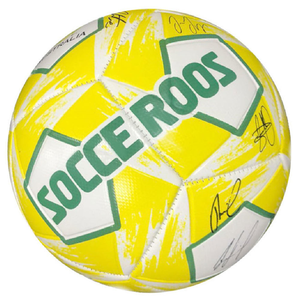 SUMMIT | HERITAGE SOCCEROOS SIGNATURE BALL SKILL SIZE 1