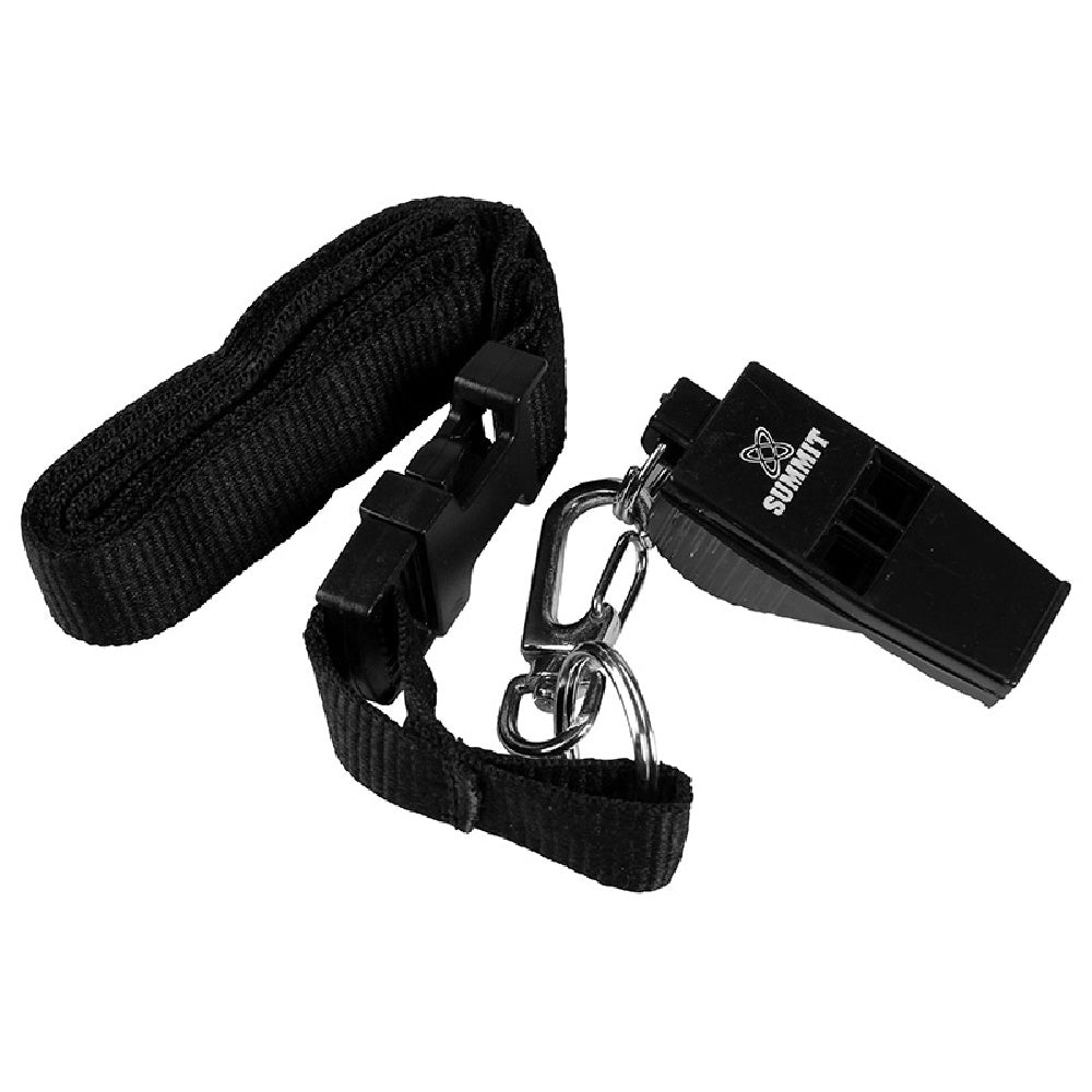 SUMMIT | PEALESS WHISTLE W/ LANYARD