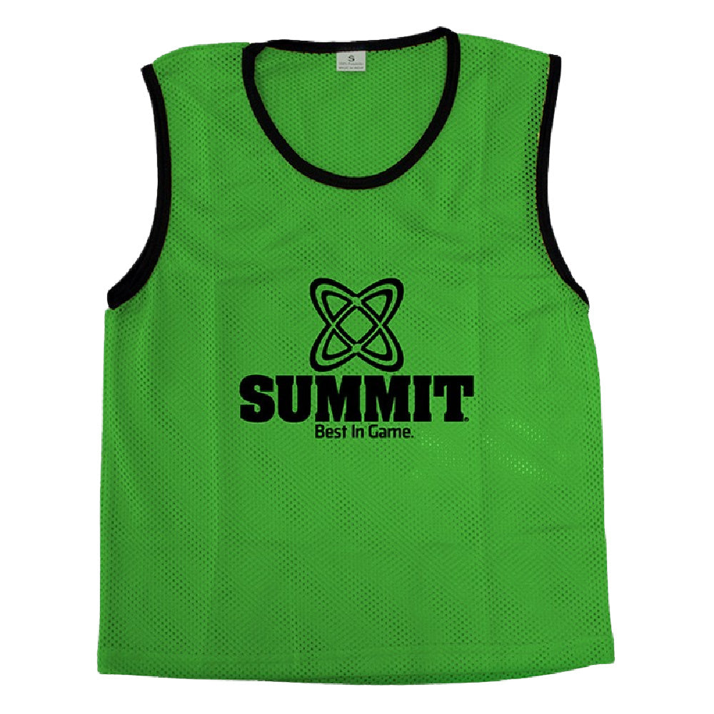SUMMIT | TRAINING BIBS SENIOR GREEN 4 PACK