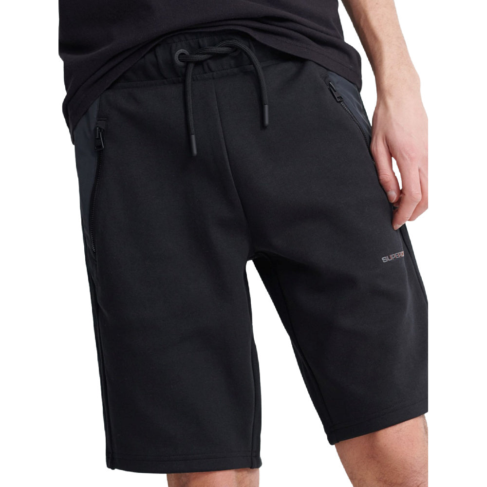 SUPERDRY | MENS URBAN TECH SHORT (BLACK)