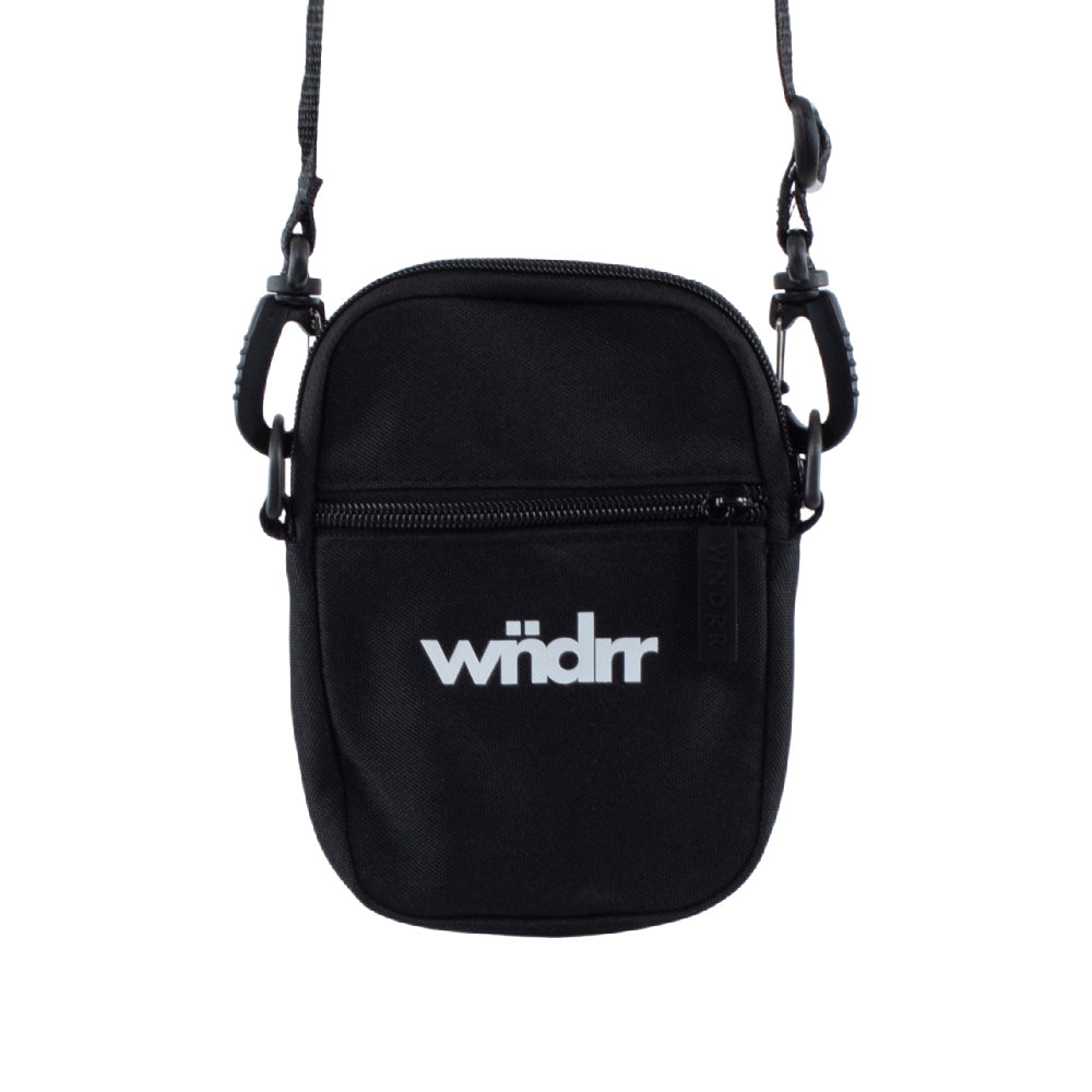WNDRR | UNISEX ACCENT POCKET BAG BLACK