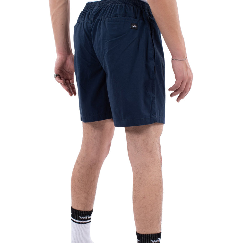WNDRR | MENS LEADER BEACH SHORT NAVY/WHITE