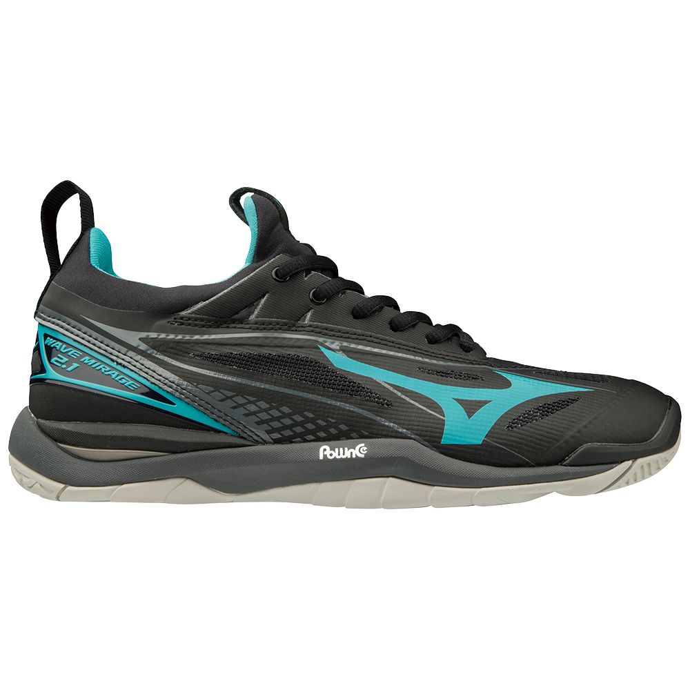 MIZUNO | WOMENS WAVE MIRAGE 2.1 NB BLACK