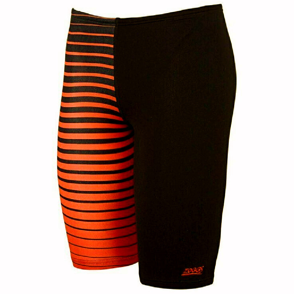 ZOGGS | MENS CAIRNS MID JAMMER BLACK/ORANGE