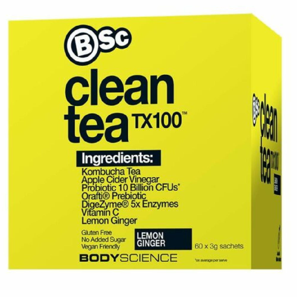 BSC | CLEAN TEA TX100 (GINGER/LEMON)