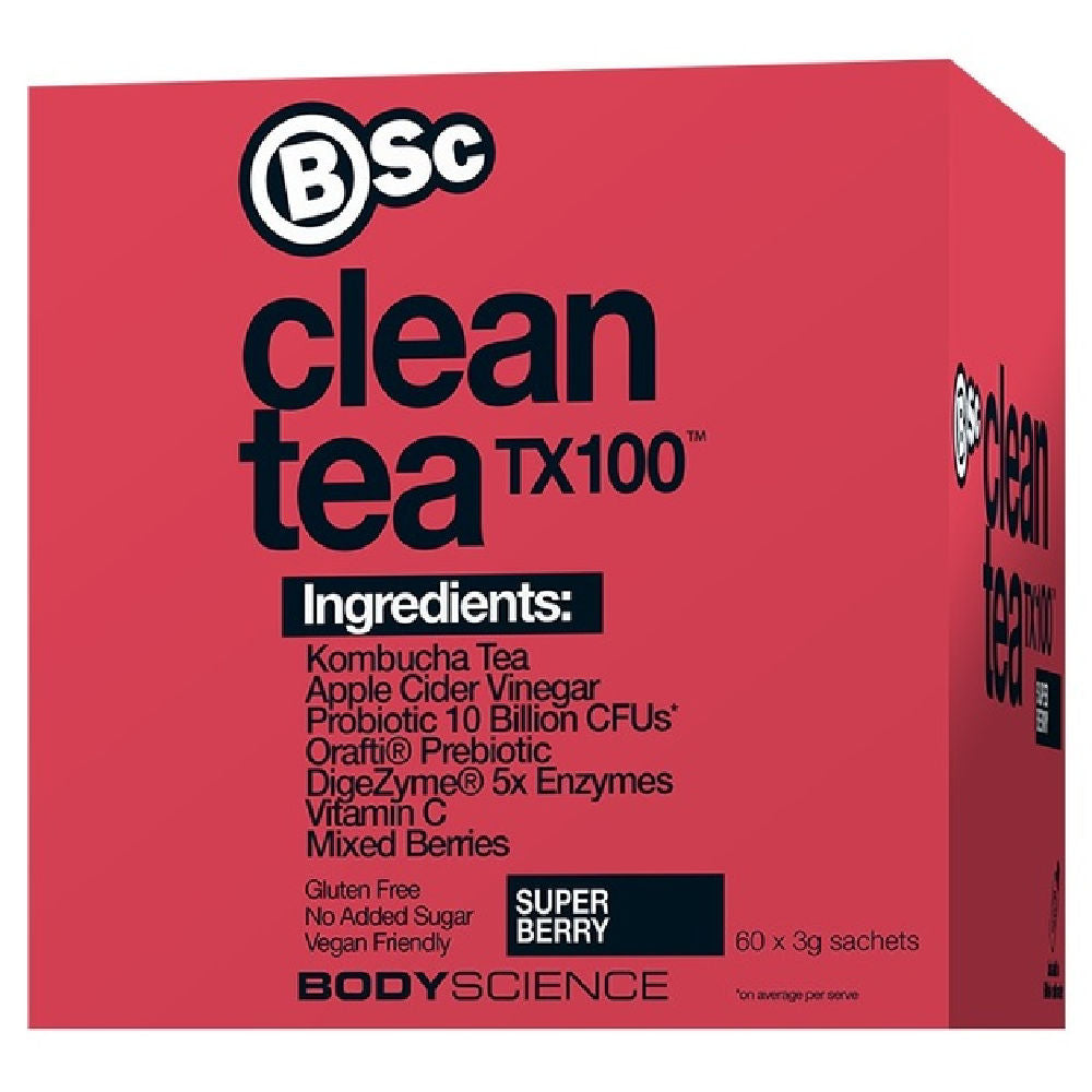 BSC | CLEAN TEA TX100 SUPER BERRY