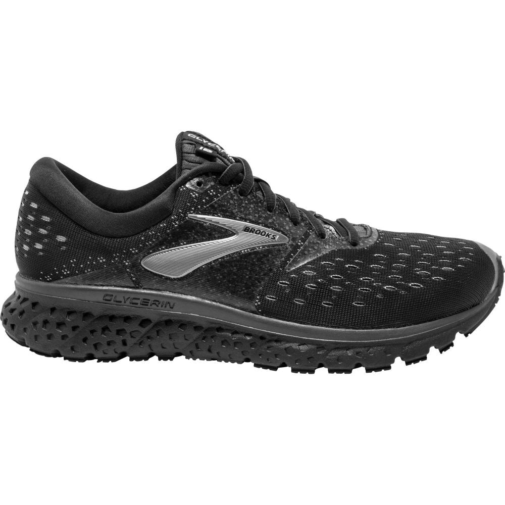 BROOKS | MENS GLYCERIN 16 2E BLACK