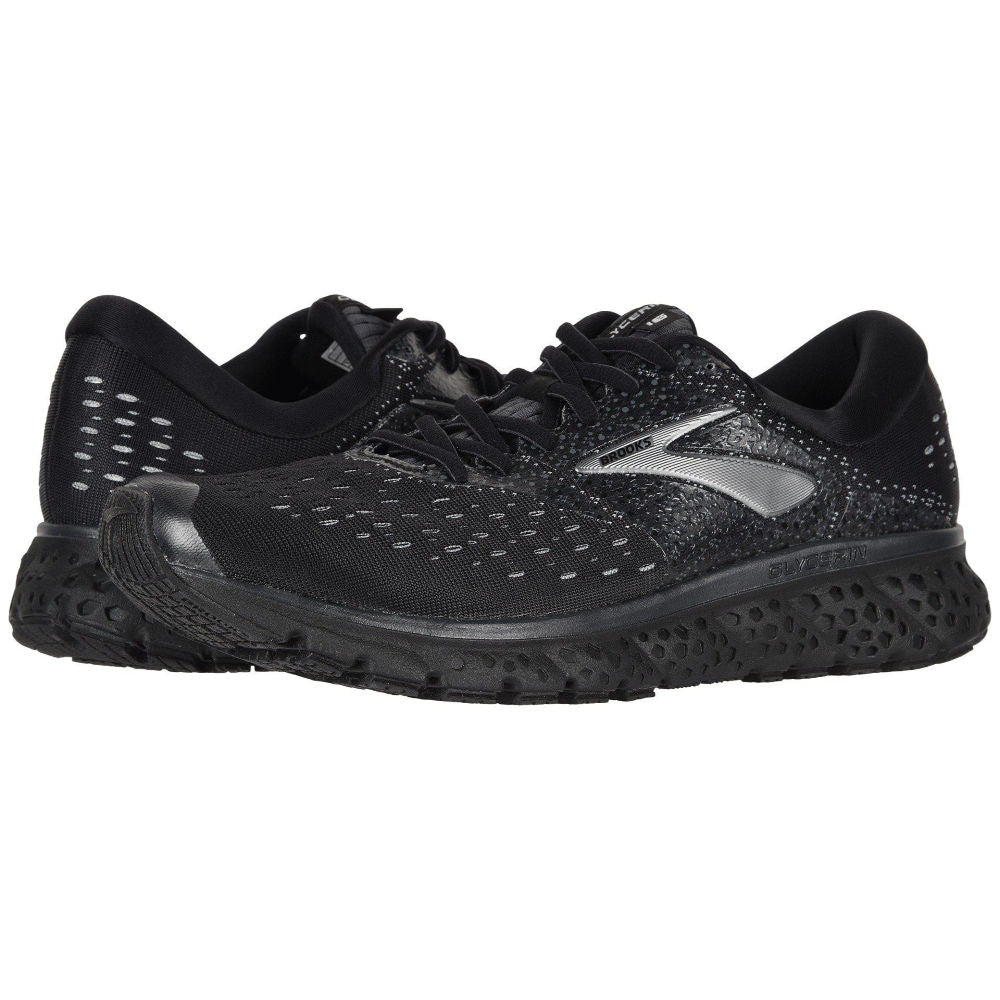 BROOKS | MENS GLYCERIN 16 2E (BLACK/BLACK)