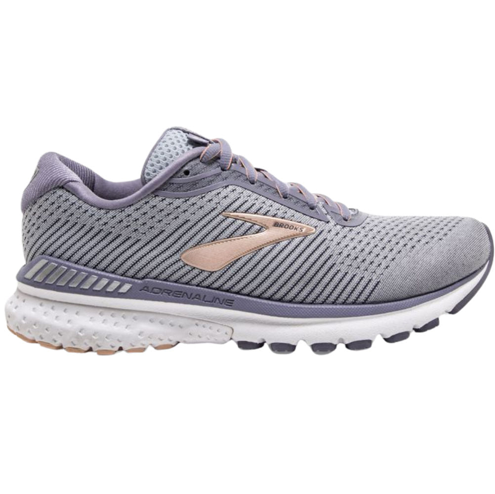 BROOKS | WOMENS ADRENALINE GTS 20 GREY