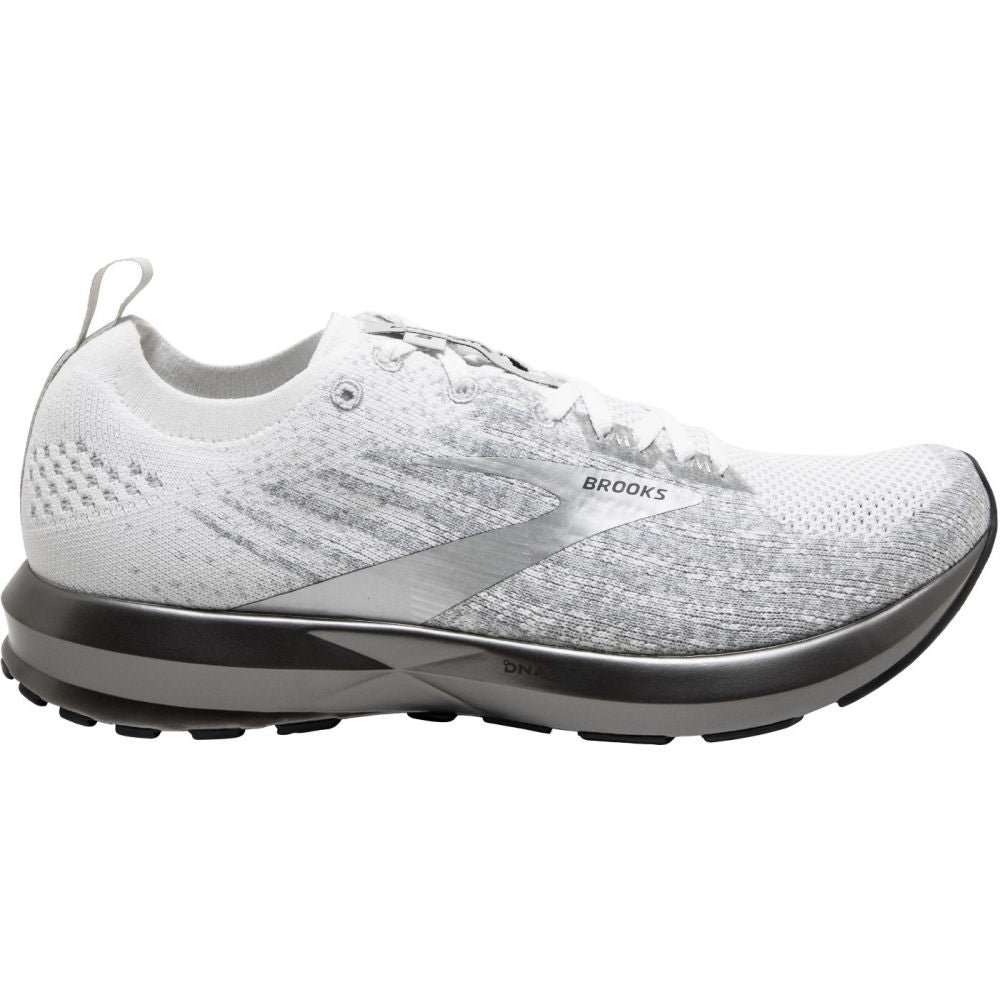 BROOKS | MENS LEVITATE 3 (WHITE/SILVER)