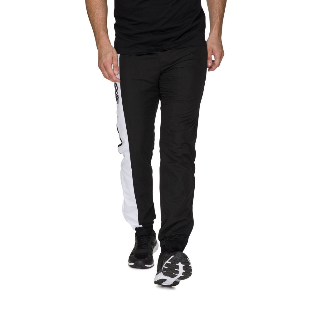 CANTERBURY | MENS TAPER STRIPE CUFF TRACK PANT AM BLACK