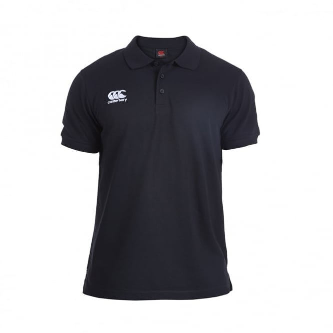 CANTERBURY | MENS  WAIMAK POLO BLACK