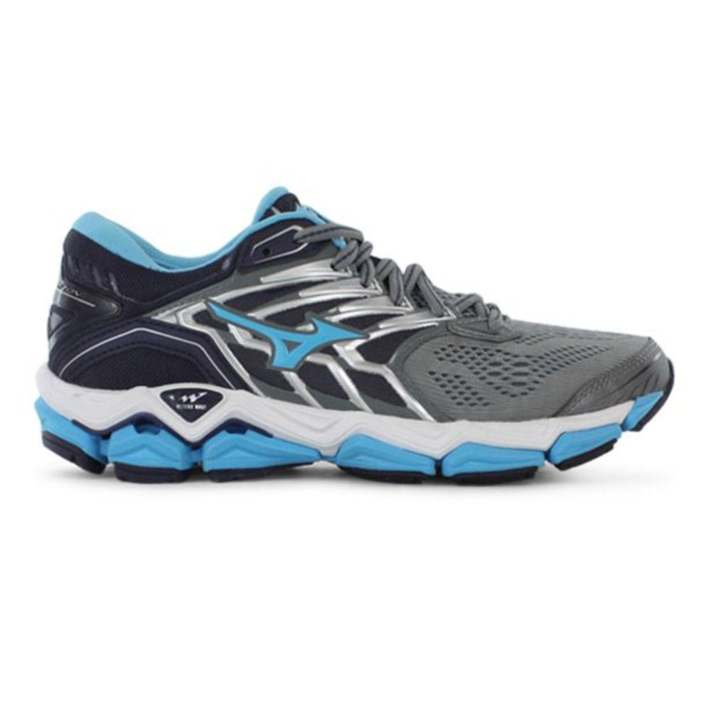 MIZUNO | WOMENS WAVE HORIZON 2 GREY