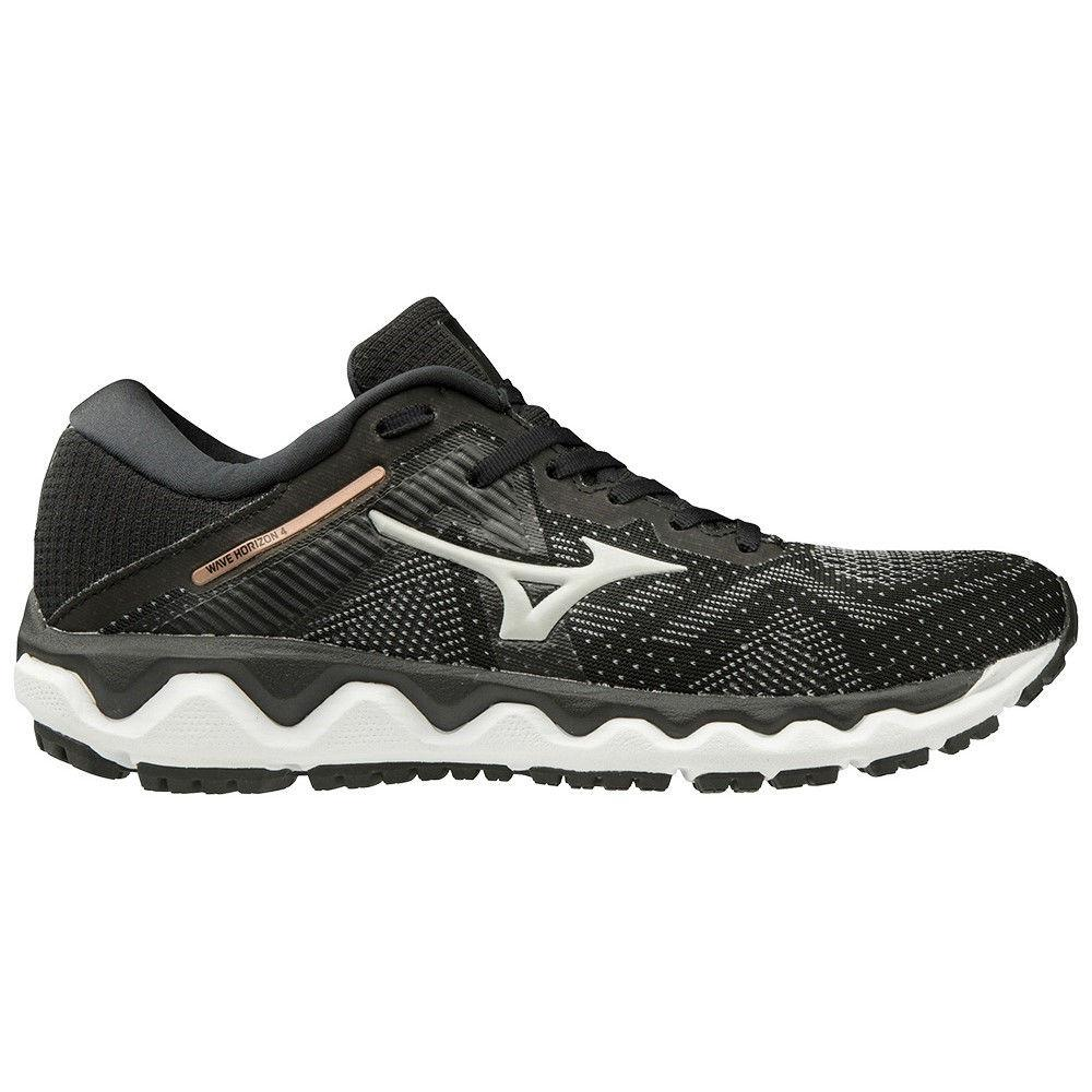 MIZUNO | WOMENS HORIZON 4 BLACK/G GRAY/CHAMPAGNE