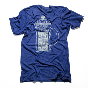 Brew Methods French Press Tee