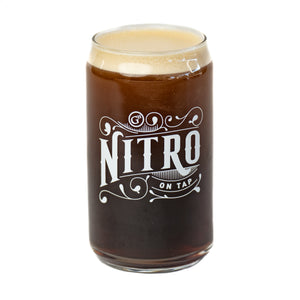 Nitro on tap Can Glass (12 oz.)
