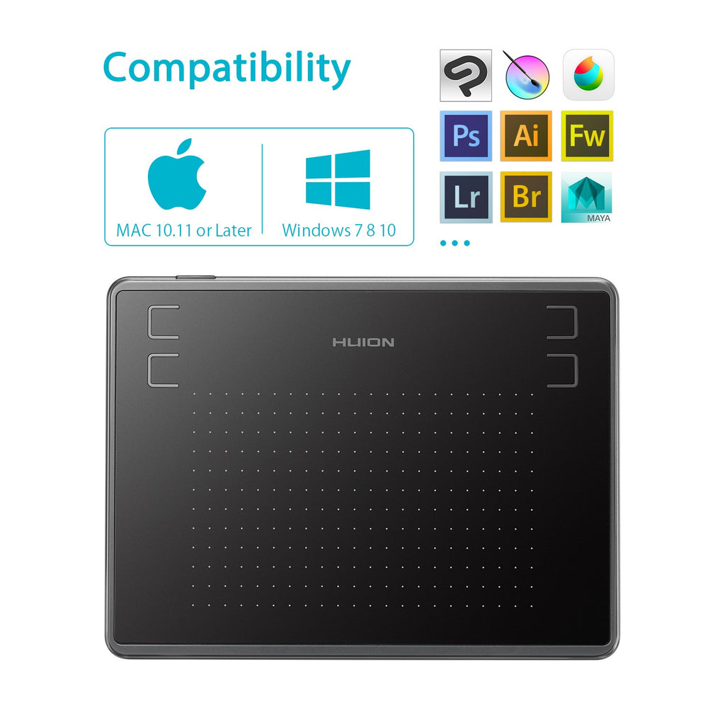 Inspiroy H430P - Huion Philippines - Official Store of Huion Graphic Tablets Philippines