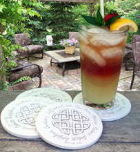Load image into Gallery viewer, Celtic Fruit Drink Coasters