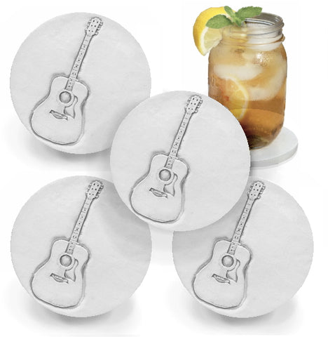 Guitar Drink Coasters