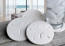 Load image into Gallery viewer, Sand Dollar Drink Coasters