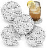 Trout Coasters