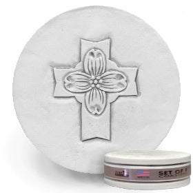 Dogwood Cross Drink Coasters