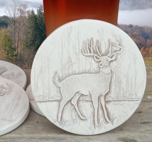 Deer Drink Coasters