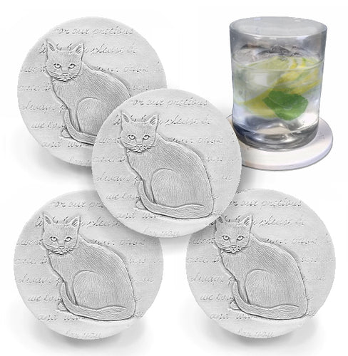 Cat Drink Coasters