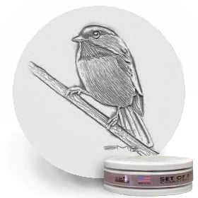 Chickadee Drink Coasters