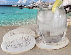 Crab Drink Coasters
