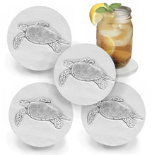 Load image into Gallery viewer, Sea Turtle Drink Coasters