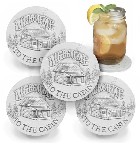 Cabin Drink Coasters