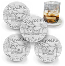 Load image into Gallery viewer, Beach House Drink Coasters