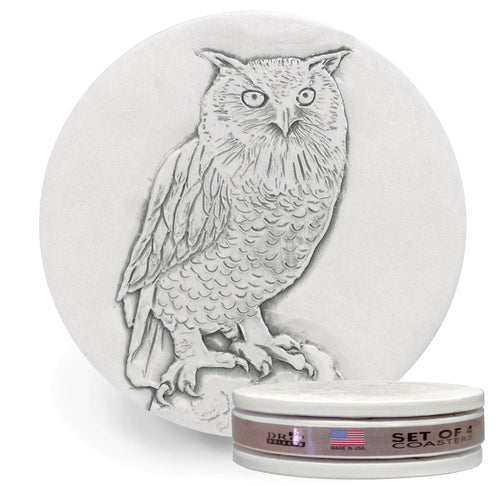 Owl Drink Coasters