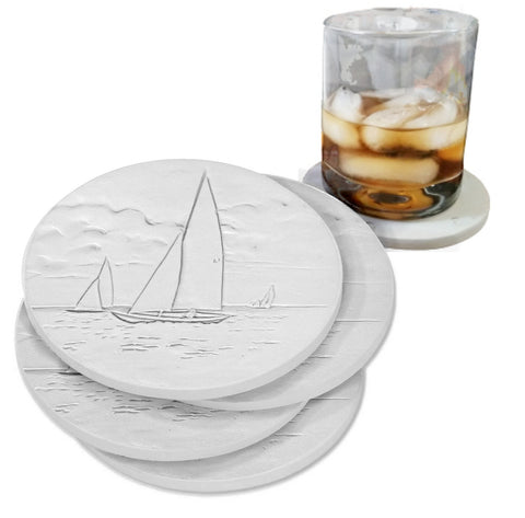 Sailboat Drink Coasters