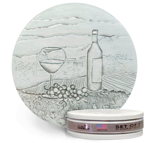 Wine Scene Drink Coasters