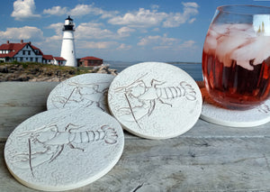Lobster Drink Coasters